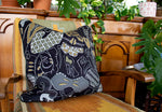 African luxury velvet cushion tribal black zhi zulu shop online