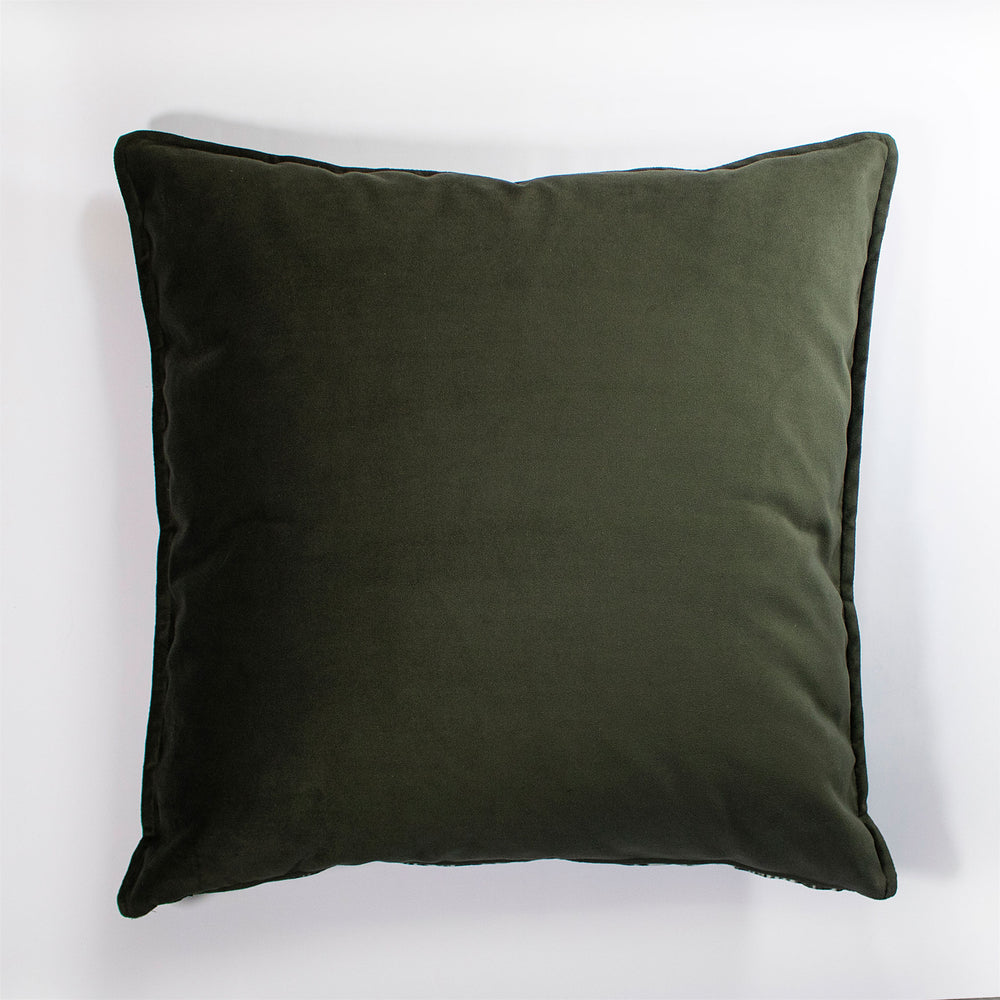 Grey Velvet Scatter Cushion
