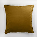 Golden Mustard Velvet Scatter Cushion