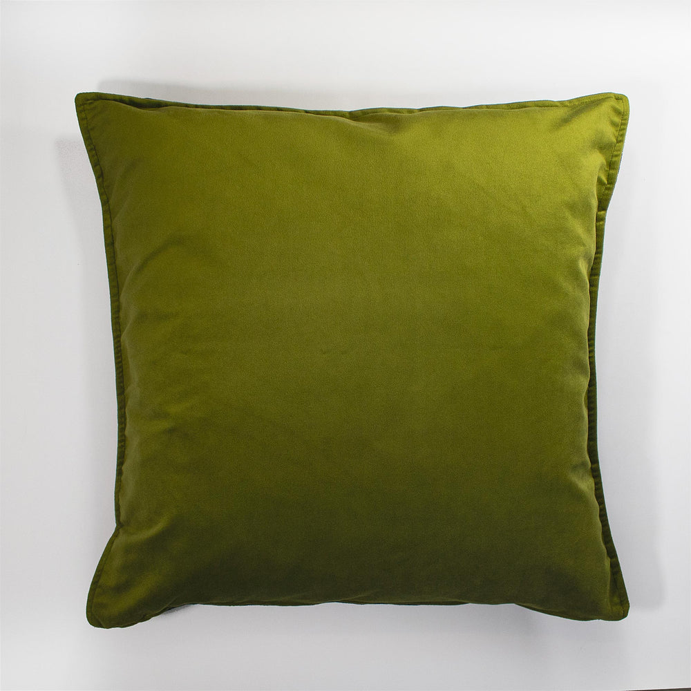 Green Velvet Scatter Cushion