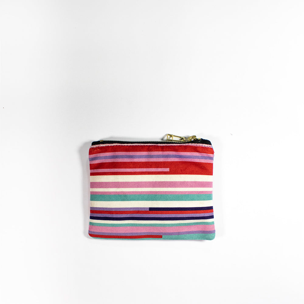 Faatimah Mohamed-Luke Stripe Coin Purse