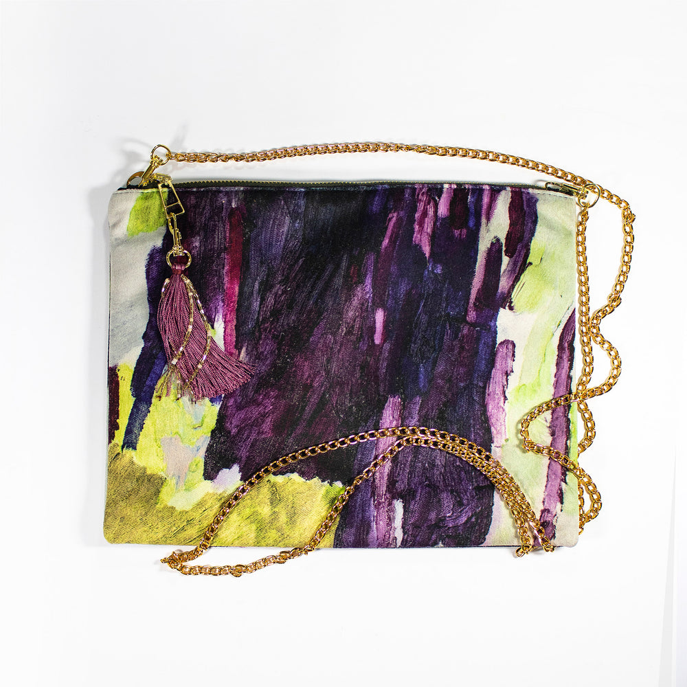 Lucy Jane Turpin Plum Forest Clutch