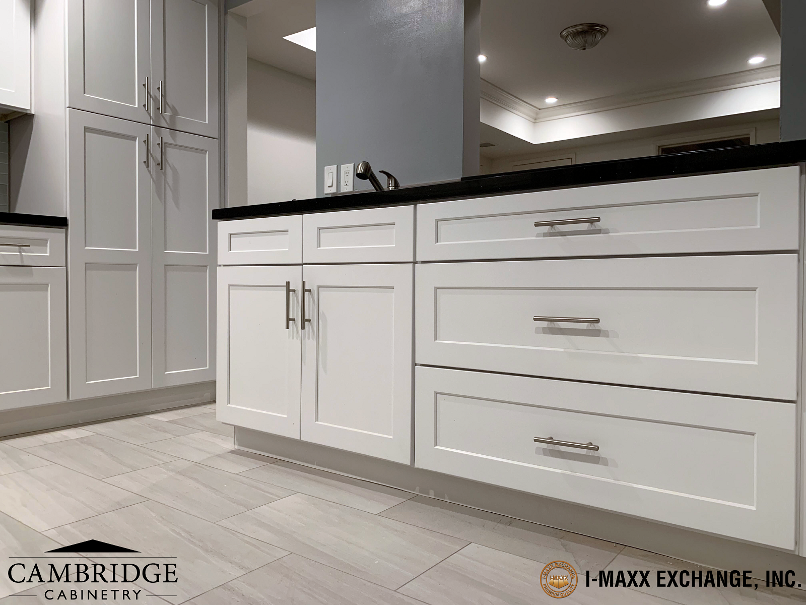 Project C - Cambridge Cabinetry - Shaker Snow White - RTA Cabinets