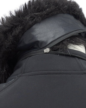 ARTEMIS bodywarmer - detachable faux fur collar