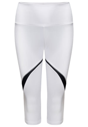 ATHENA capri tights white