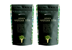 Japanese Matcha Green Tea, 50g (Pack of 2)