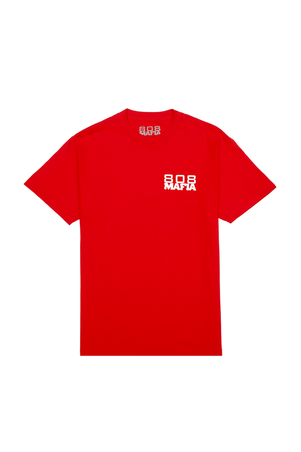 808 OG Logo T-Shirt (Red)