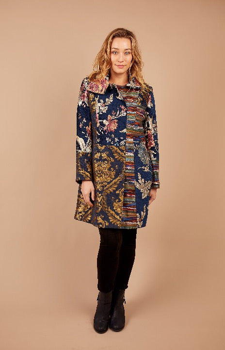 Multi Embroidered Coat