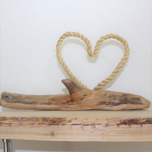 Tranquil Drift driftwood sculpture.