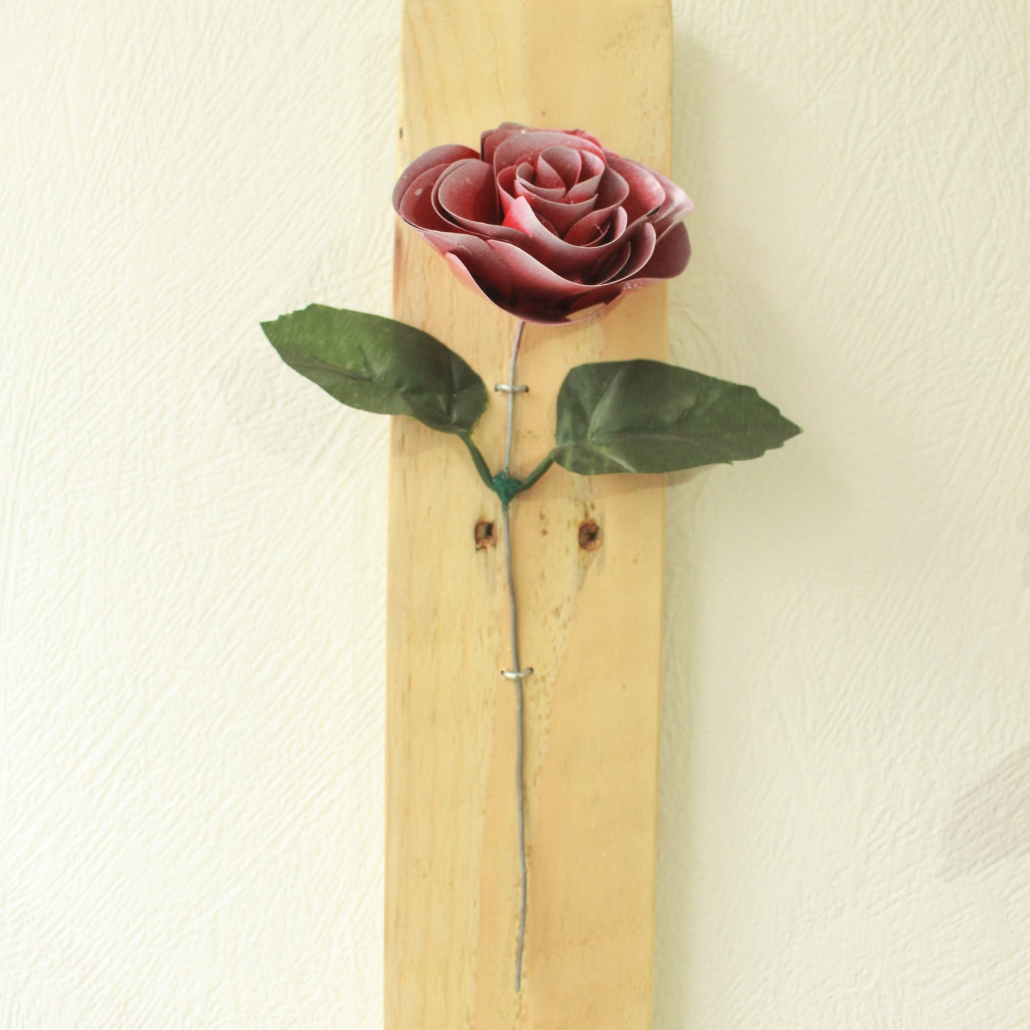 Forever Rose wall mounted plaque
