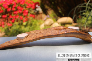 Arched Driftwood Tealight Holder