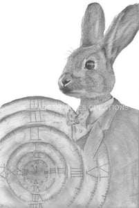Original Time for the Rabbit Illustration