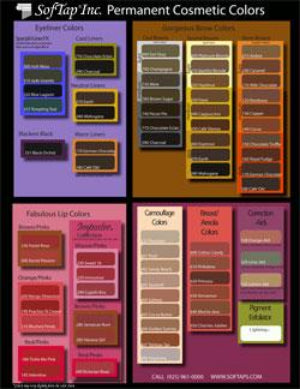 softap-colour-chart