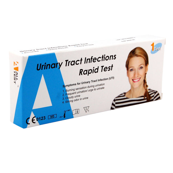 Cystitis urinary tract infection home test kit