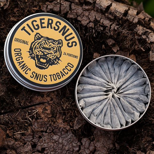 TIGERSNUS 'ORIGINAL' - Pouch (bags), 24 portions