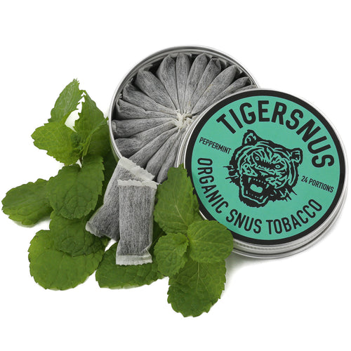 TIGERSNUS PEPPERMINT - 24 portions