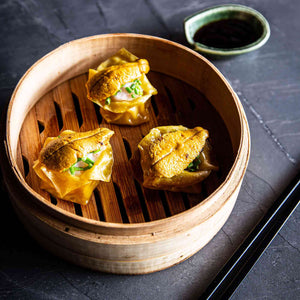 Prawn & Sea Urchin Shumai Dumplings