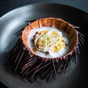 urchin-uni-steamed-ginger-coconut