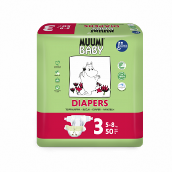 Muumi diapers T3 x 50