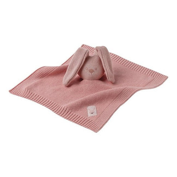 Nattou faceted Doudou Rose Tricot