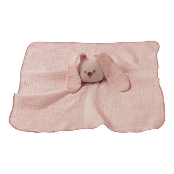 Nattou faceted Doudou Pink Cotton