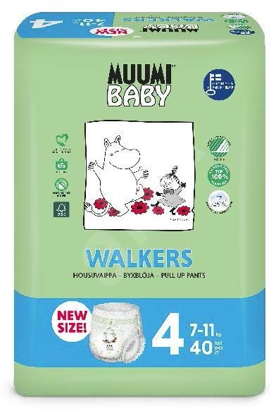 Muumi Walkers diapers Panties T4 x40