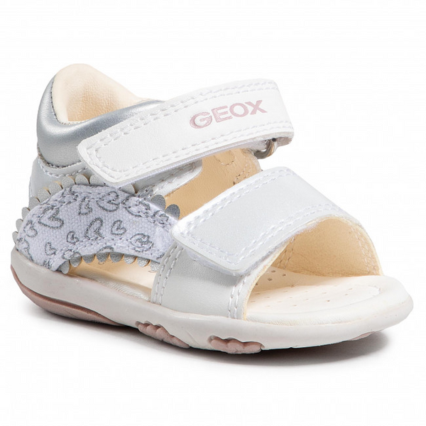 Geox B1538A B S.Nicely The White / Silver