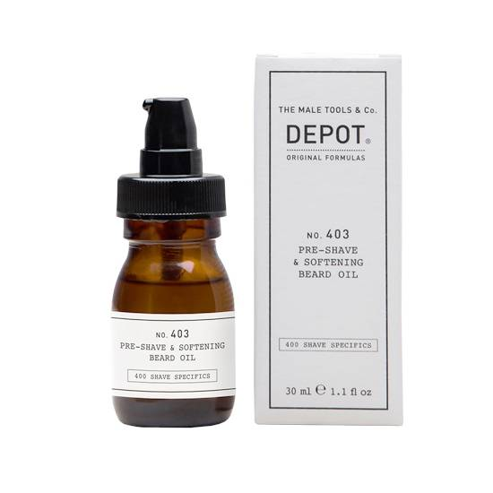 Depot No. 403 Shaving Oil and Pre-shave Soft 30ml