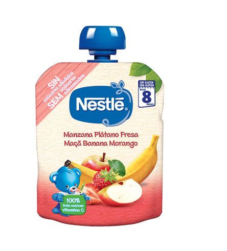Nestlé Bundle Apple Banana Strawberry 8M + 90G