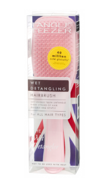 Brush Wet Hair Tangle Teezer Pink Detangl