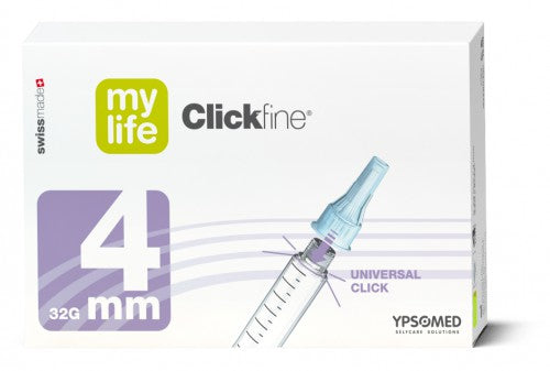 Clickfine Pl Ag Pen 4mm x32g x100