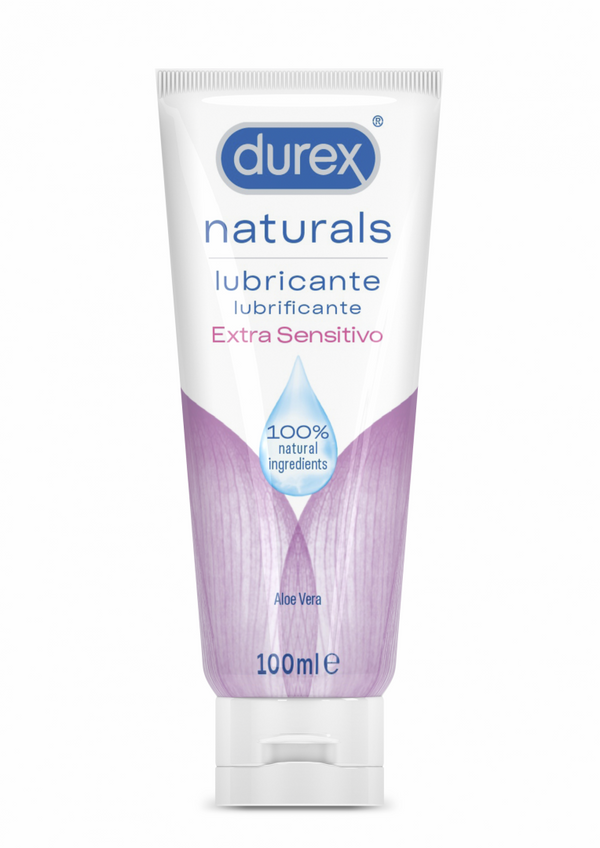 Durex Extra Sensitive Naturals Lubricant Gel 100ml