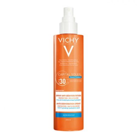 Vichy Capital Soleil SPF 30 Spray 200ml Antidesidratação