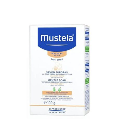 Mustela Baby Soft Soap With Cold Cream 100G