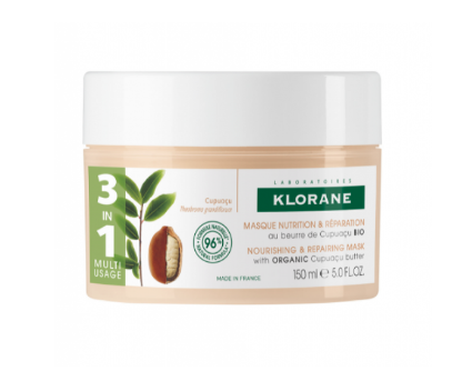 Klorane Hair Butter Mask Cupuacu Bio 150ml