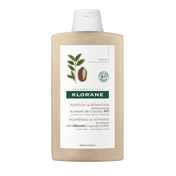 Klorane Hair Shampoo 400ml Bio Butter Cupuaçu