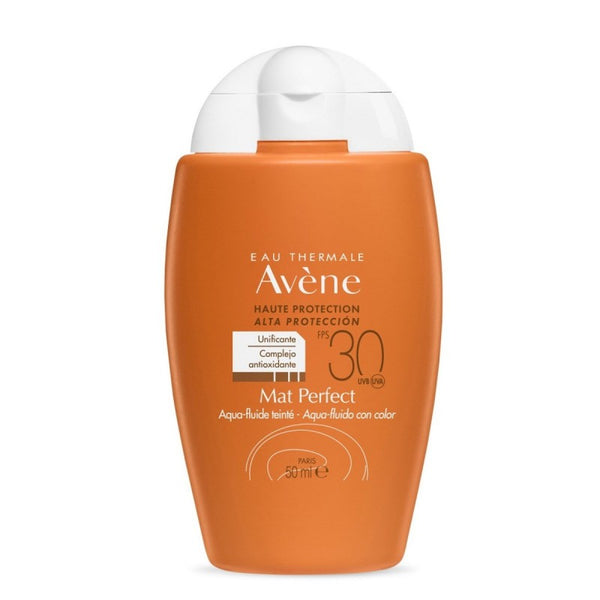 Avène Solar Aqua- Fluid Mat with Color Perfect SPF 30 50ml
