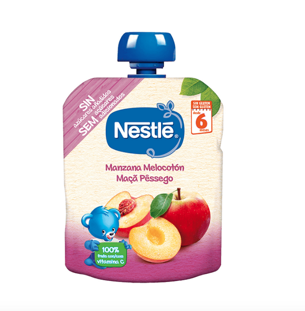 Nestlé Bundle apple and peach 6M + 90gr