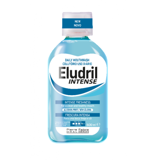 Intense Eludril Mouthwash 500ml