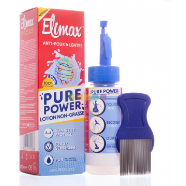 Elimax Pure Power Lotion lice / nits 100ml