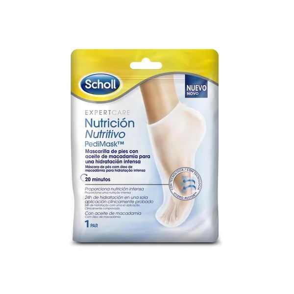Scholl Foot Mask 1 Pair