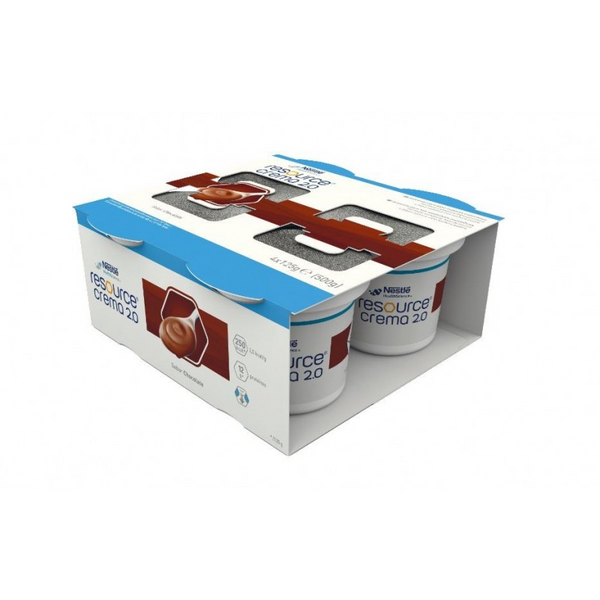 Resource Crema 2.0 Chocolate Pudding 125G X4