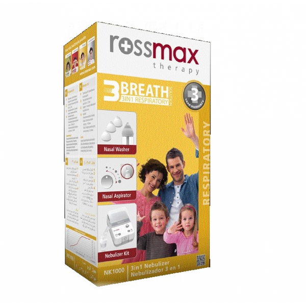 Nebulizer Rossmax Breath 3 3 in 1 NK1000