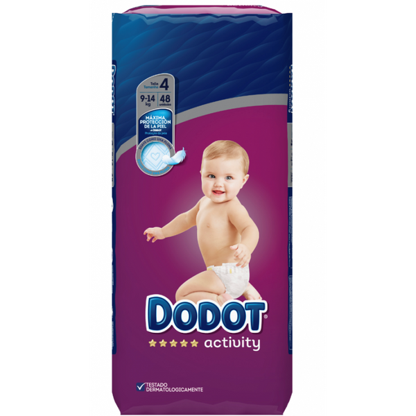 Activity Dodot diapers 9-14Kg T4 x48
