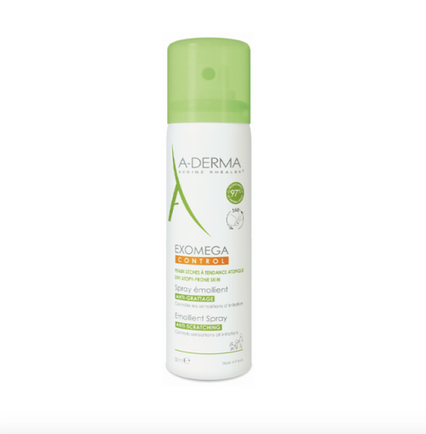 A-Derma Control Spray Softener 50ml Exomega