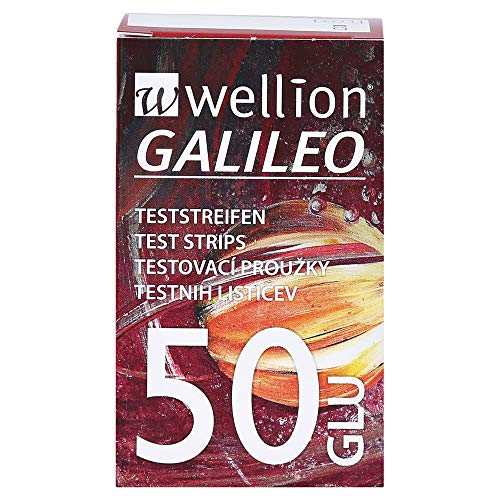 Wellion Galileo Pl Blood Glucose Strips X50