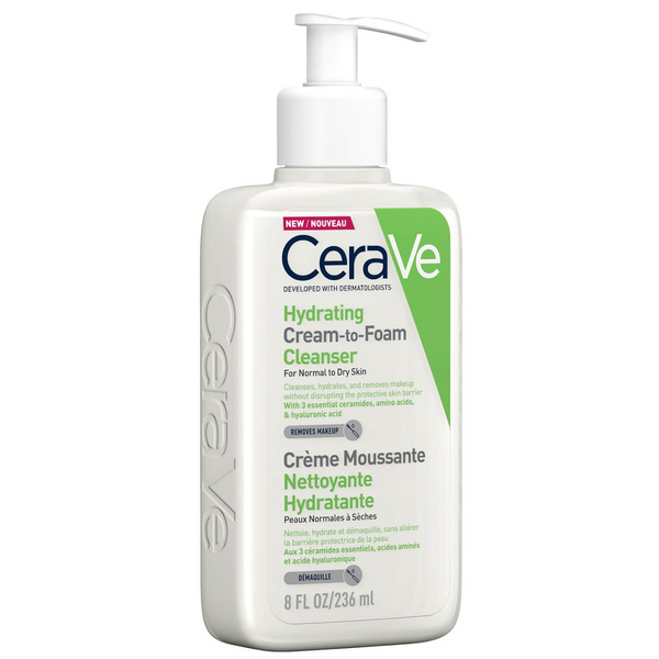 CeraVe Cream Cleanser Foam 236ml
