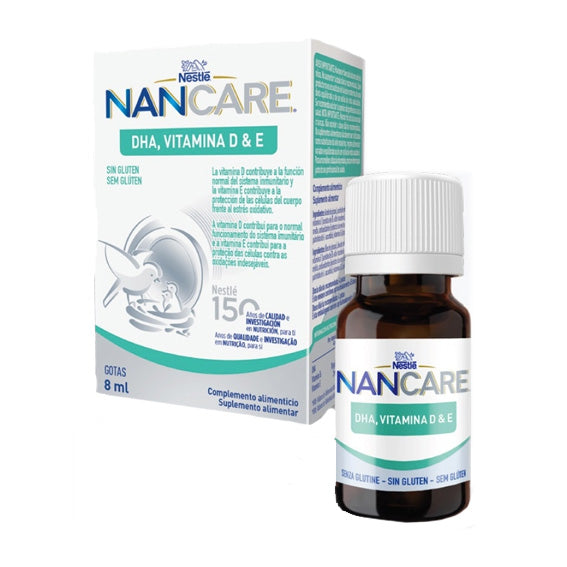 NanCare DHA Vitamin D & E 8 ml Drops