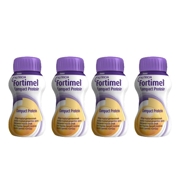 Fortimel Compact Protein Tropical Ginger 125ml x4