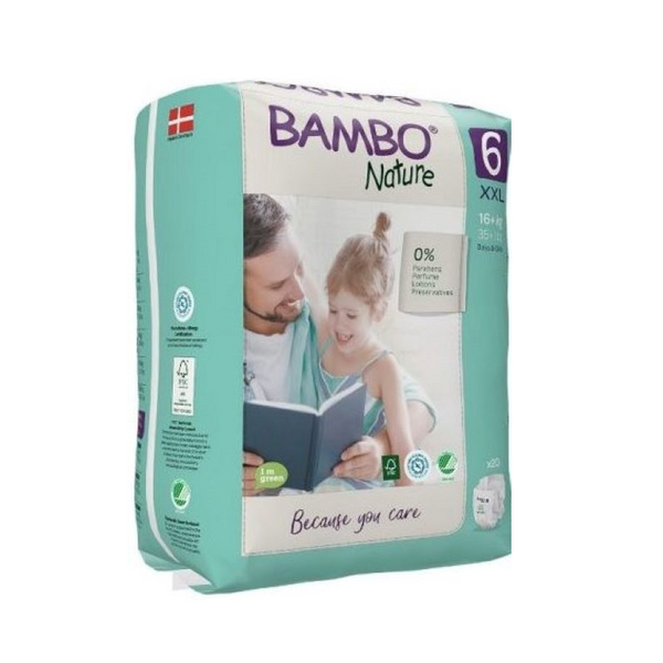 Bambo Nature Nappies 6 XXL 16kg + x20
